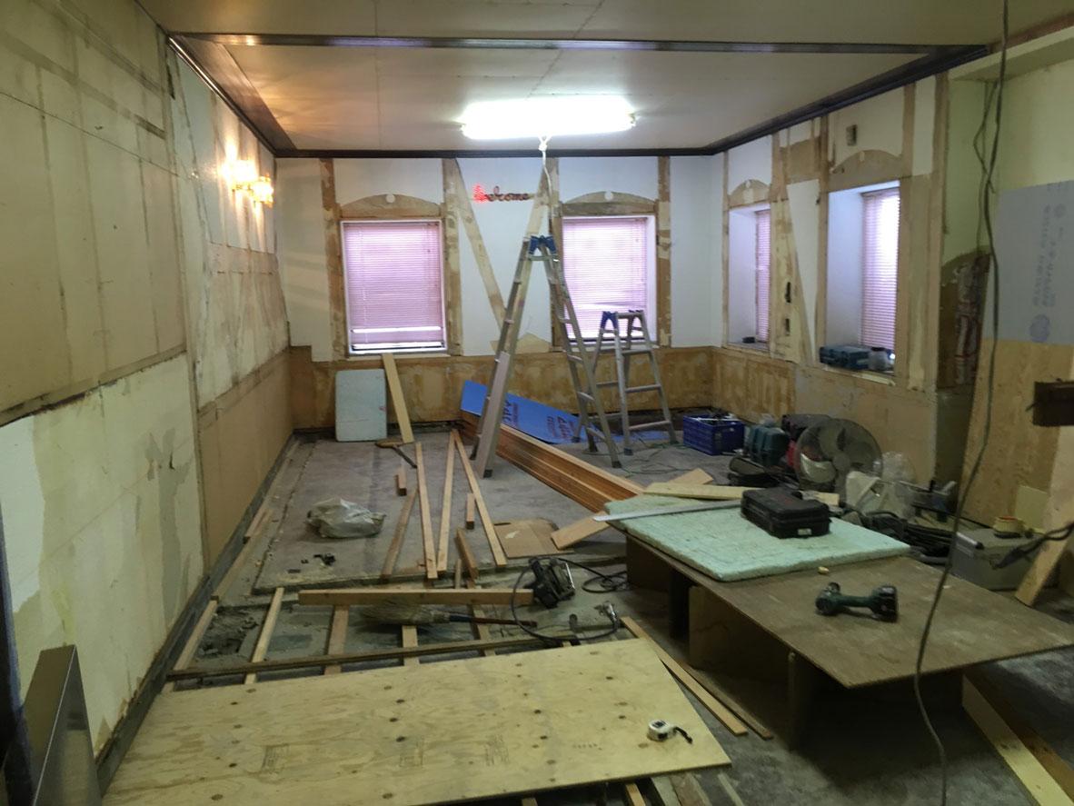 長野市の解体作業